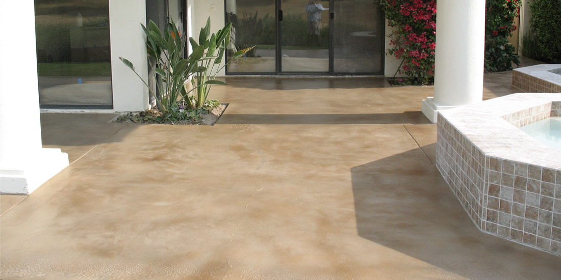 Stained Concrete & Concrete Staining Contractor | Yucaipa ...
